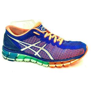 Asics Womens Gel Quantum 360 Blue Sneakers Size 8